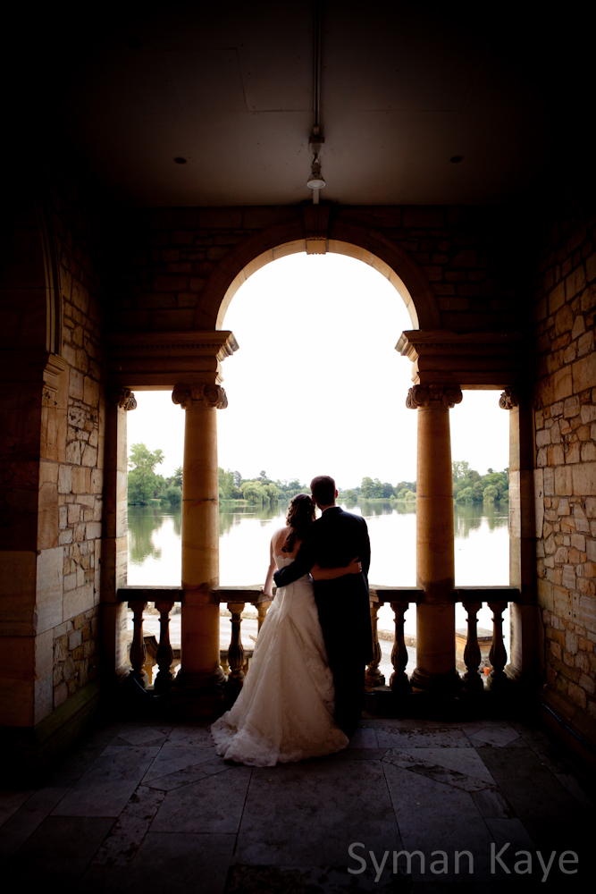 The lake at hever Castle, With Wedding Photographer Syman Kaye